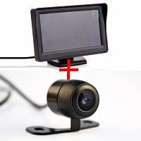 Система заднего вида: монитор 4.3'' + камера бабочка!