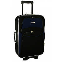 Валіза сумка 773 (великий) чорно-т. синій