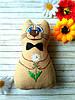 Ароматный сувенир на День Влюбленных котик Позитивчик