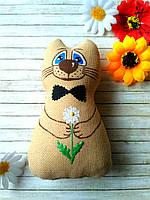 Ароматный сувенир на День Влюбленных котик Позитивчик, фото 1