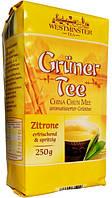 """Рассыпной зеленый чай Westminster """"С ароматом Лимона"""" 250 гр."""