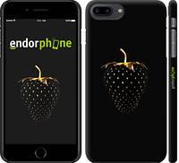 """Чехол на iPhone 7 Plus Черная клубника """"3585c-337"""""""
