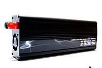 Инвертор напряжения 24/220 2000w BL, преобразователь 24/220 3500w