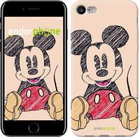 "Чехол на iPhone 7 Нарисованный Мики Маус ""2731c-336"""
