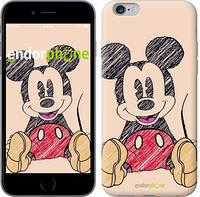 "Чехол на iPhone 6s Plus Нарисованный Мики Маус ""2731c-91"""