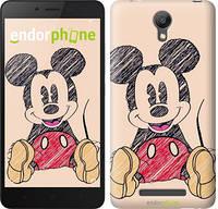 "Чехол на Xiaomi Redmi Note 2 Нарисованный Мики Маус ""2731c-96"""