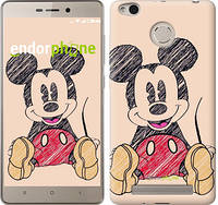 "Чехол на Xiaomi Redmi 3s Нарисованный Мики Маус ""2731c-357"""