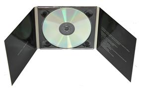 Digipack (диджипак) для 1 DVD  3 лепестка от 300 шт