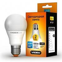 Лампочка LED 12 Вт E27 4100K 220В VIDEX VL-A60e-12274