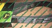 Ремень R157687 тр 8Ribs V-BELT  W/O AIR BRAKE John Deere R124785 запчасти, фото 1