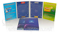 Digipack (диджипак) для 2 DVD  4 лепестка от 300 шт