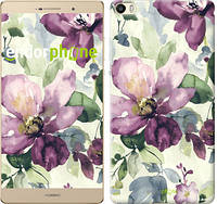 "Чехол на Huawei P8 Max Цветы акварелью ""2237u-371"""
