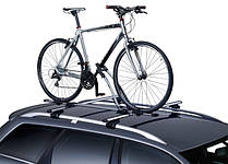 Велокрепления на крышу автомобиля