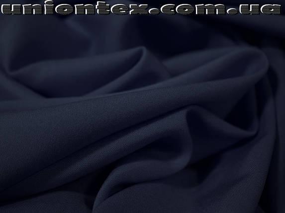 Штапель темно-синий, фото 2