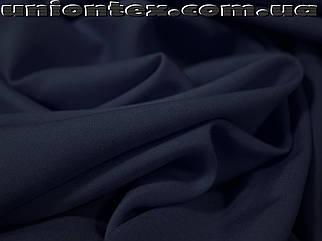 Штапель темно-синий