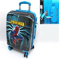 """Детский чемодан дорожный, кодовый замок """"Josef Otten"""" Человек Паук, Spider Man 20"""" на четырех колесах 520328"""
