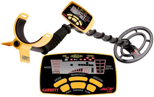 "Металлоискатель Garrett ACE 250 + Mars Tiger 9,5""x12,5"""