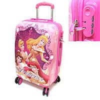"""Детский чемодан дорожный, кодовый замок """"Josef Otten"""" Принцессы Princess 20"""" на четырех колесах 520329"""