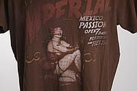 Mexicali футболка мужская  размер M  ПОГ 52 см  б/у
