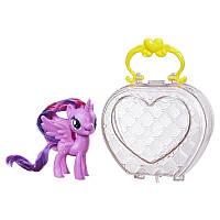 Май литл пони принцесса Твайлайт Спаркл Искорка в сумочке. Оригинал Hasbro