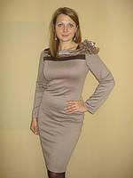 Платье трикотажное нарядное, фото 1