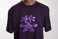 Crumpler футболка мужская  с флуоресцентным элементом размер L   ПОГ 57 см  б/у