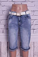 Женские джинсовые капри батал Moon Girl (код 8333), фото 1