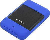 Внешний жесткий диск ADATA 2.5 USB 3.0 1TB HD700 Durable IP56 Blue AHD700-1TU3-CBL (AHD700-1TU3-CBL)