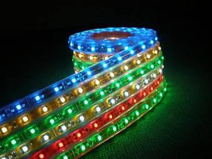 Зеленая (green) лента светодиодная 6,0W SMD3528 (60 LED/м); Outdoor IP68 Premium