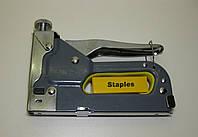 Степлер с регулятором для скоб 4-14мм TOPEX