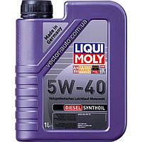 Масло моторное Liqui Moly Diesel Synthoil 5W-40, 1L