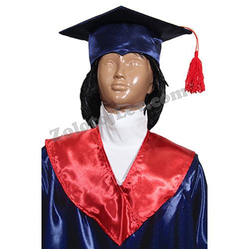 Квадратная шапка выпускника детская