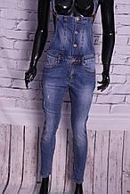 """Жіночий стильний джинсовий комбінезон """"R. Display"""" (розміри s.m.l.xl.xxl )"""