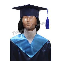 Квадратная шапка профессора детская