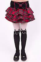 """Школьная юбка-шорты для девочки """"K-12"""""""