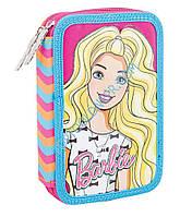 Пенал твердый двойной  Barbie, 20*13.5*4