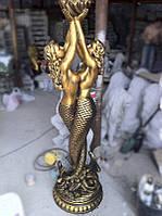 Скульптура садовая «Русалки»  Золотой-темный