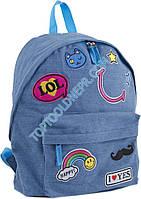 Рюкзак подростковый ST-15 Jeans LOL, 30*36*12