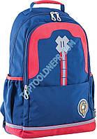 Рюкзак подростковый OX 335, синий, 30*48*14.5