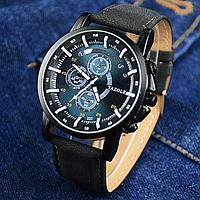 Наручные мужские часы c черным ремешком код 271