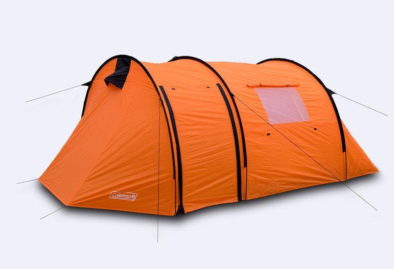 Палатка двухслойная 3х местная Coleman (Польша) 410х200х160. Суперцена! Оптом и в розницу