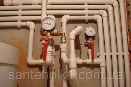 Установка автономного отопления. Киев и область., фото 2