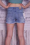 Стильные женские шорты с вышивкой (код 8724), фото 3