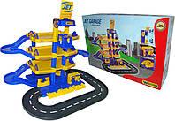 """Паркинг """"JET"""" 4-уровневый с дорогой (в коробке)"""