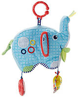 Мягкая игрушка-подвеска Fisher-Price Слоненок (DYF88)
