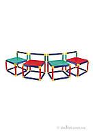 Набор из 4-х стульев Gigo 3599