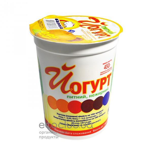 Йогурт питьевой 0,05% Абрикос ТМ АМА 450г