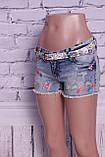 Красивые женские джинсовые шорты Miss Grace (код 0025), фото 3