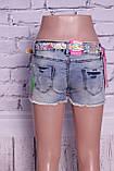 Красивые женские джинсовые шорты Miss Grace (код 0025), фото 4