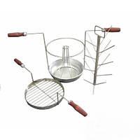 Трансформер комплект 3 в 1-ом для тандыра с алюминиевой сковородкой